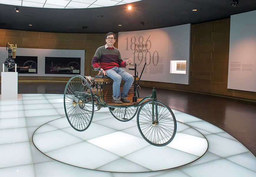 Mercedes-Benz Museum Welcomes 8 Millionth Visitor
