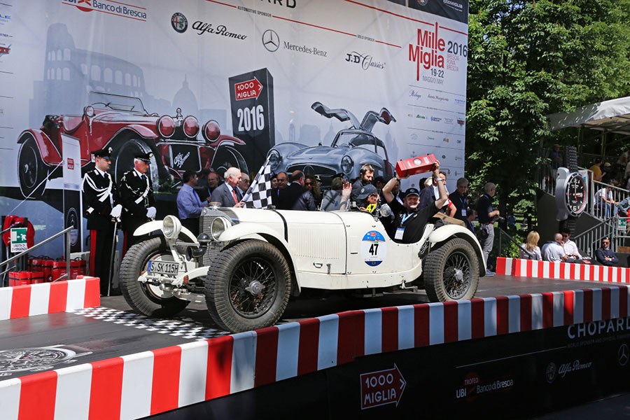 Mercedes-Benz Classic at the 90th Anniversary of the Mille Miglia