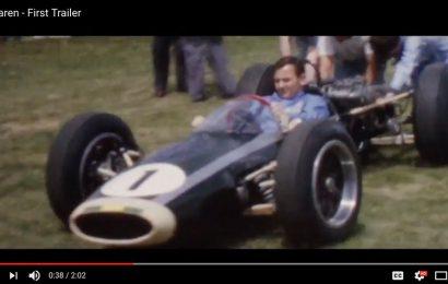 McLaren Movie Trailer Released