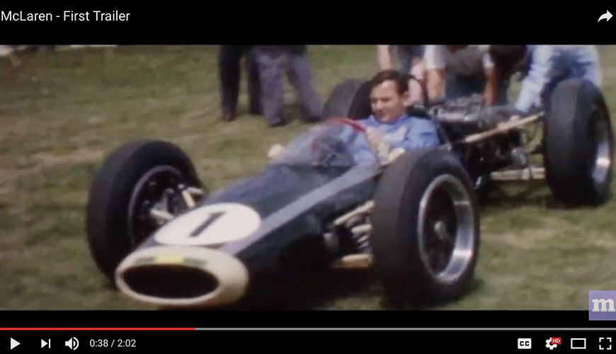 McLaren Movie Trailer Released