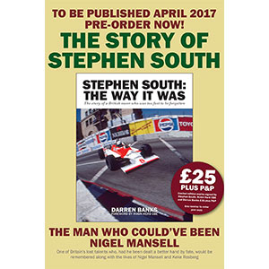 THE WAY IT WAS – The Story of Stephen South