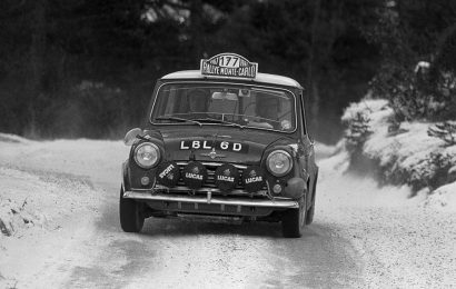 Mini Cooper and the 1967 Monte Carlo Rallye