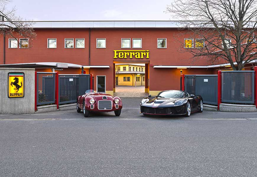 Ferrari 70th Anniversary Celebrations Get Underway