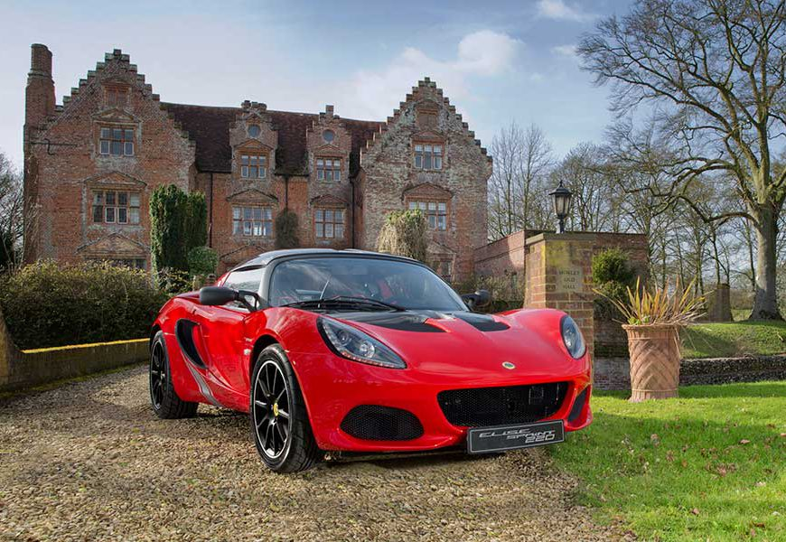 The New Lotus Elise Sprint
