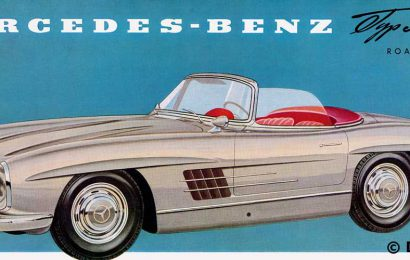 March 1957-Mercedes-Benz Presents the 300 SL Roadster