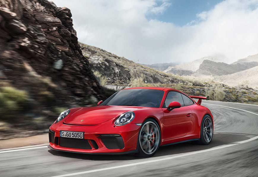 A New 911 GT3 for the Road & Track
