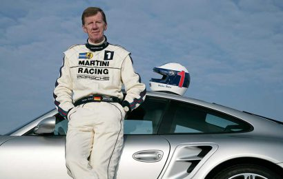 Porsche celebrates motorsport icon Walter Röhrl
