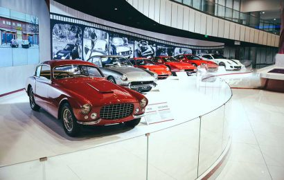 Ferrari 70th Anniversary Exhibition Arrives in Shanghai