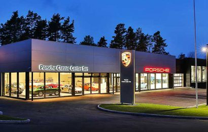 Porsche Classic Centre in Norway