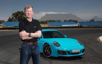 Walter Röhrl celebrates Porsche silver anniversary