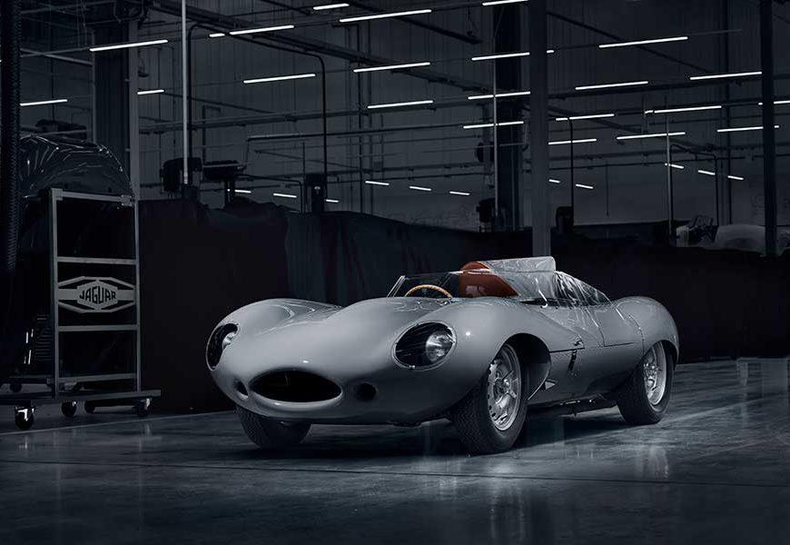 Jaguar Classic to Restart Production of D-Type Race Car