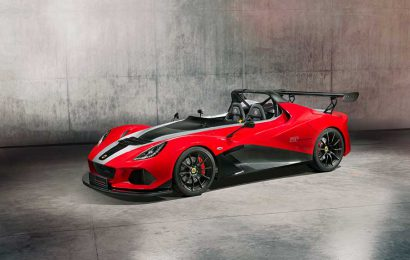 The new Lotus 3-Eleven 430