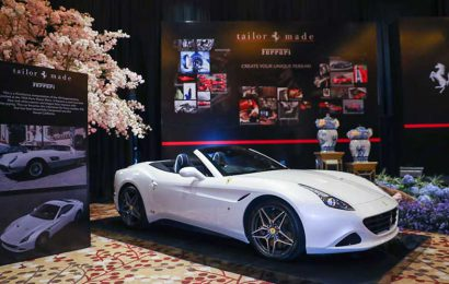 Unique Creations Ferrari at Lunar New Year Gala Dinner