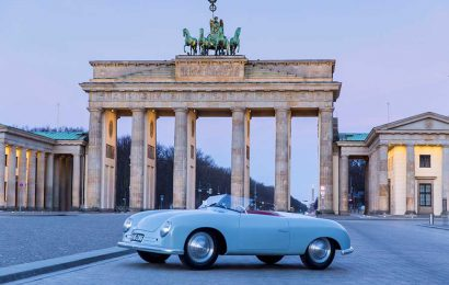 "Porsche opens its ""70 years of Porsche Sports Car"" exhibition in Berlin"