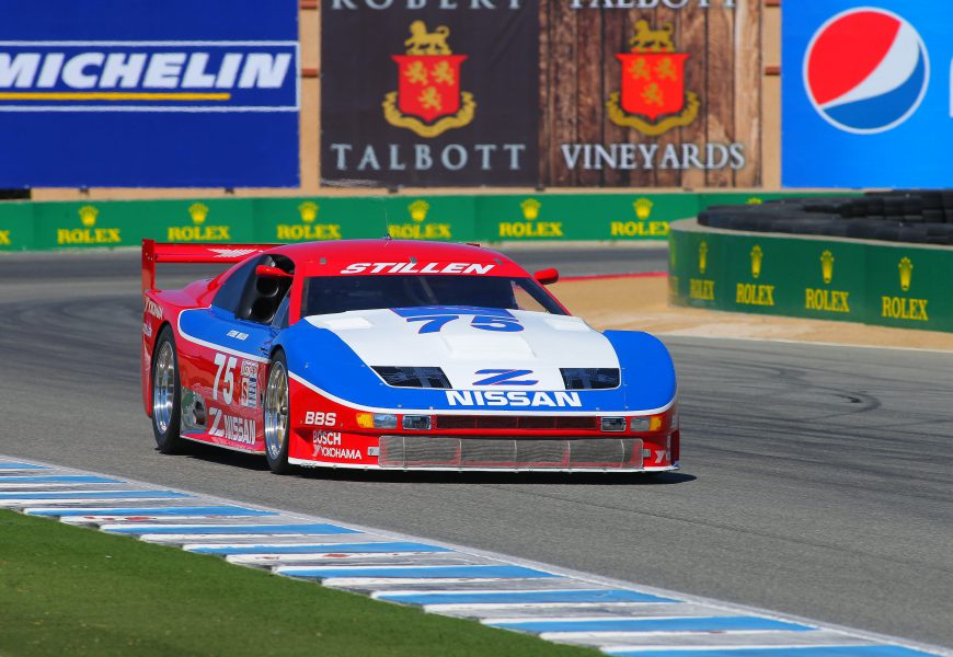 Nissan to be Featured Marque at Rolex Monterey Motorsports Reunion